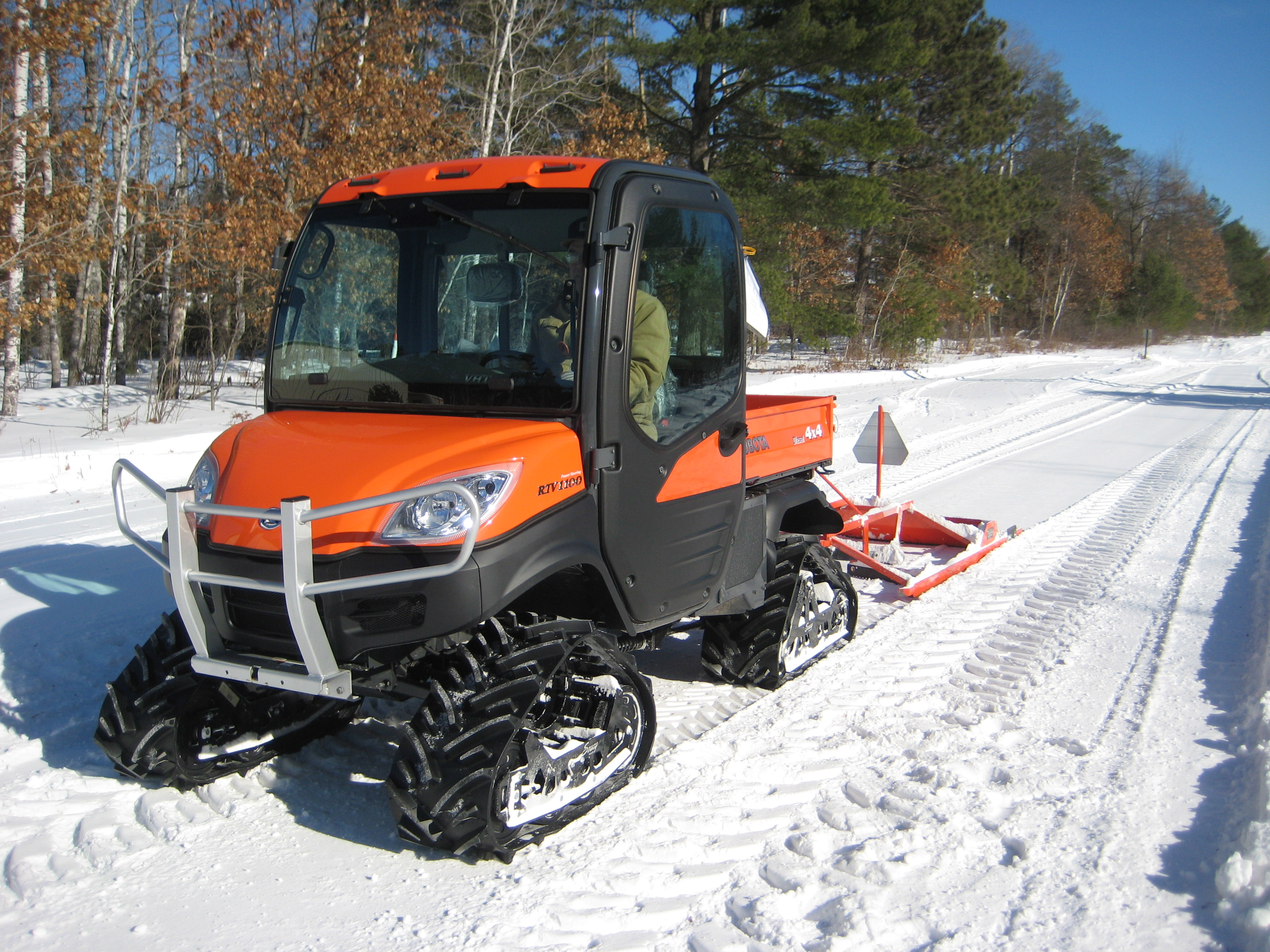 Grooming With An Atv Or Utv Abr Trails