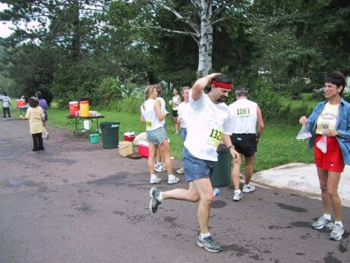ABR has been manning the 13 mile aid station at the Paavo Nurmi Marathon  for the last 7 years.
