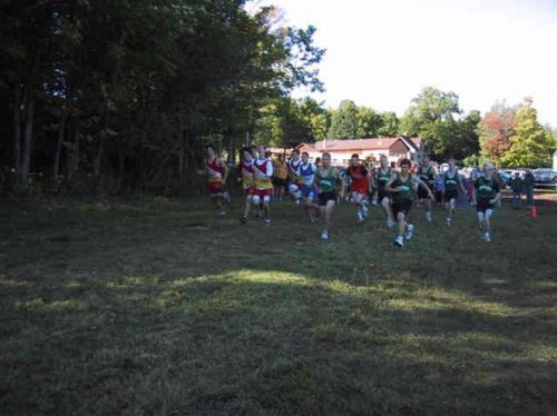 ABR Hosted the Ironwood Invitational Cross Country Running Meet with 9 schools competing on the ABR Ski Trails.