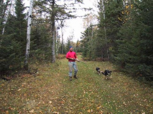 We also find time for Bird (Grouse) Hunting with the dogs.