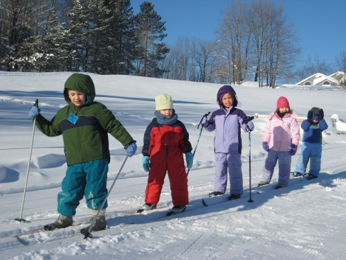 Kids Ski Sundays in February