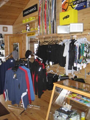 ABR sports a full featured ski shop