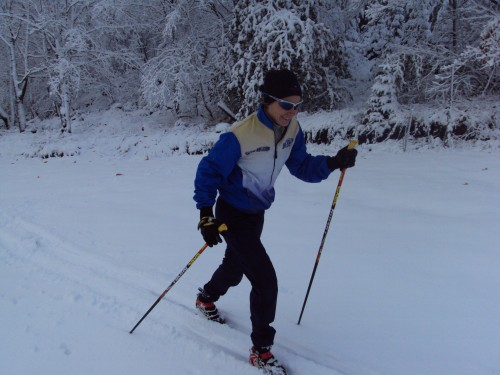 Paulette gets first tracks