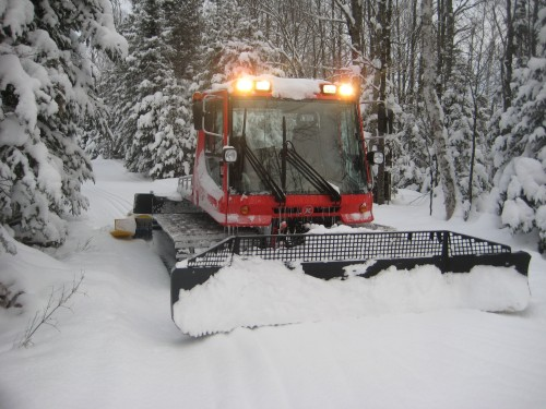 Pisten Bully in Winter Wonderland